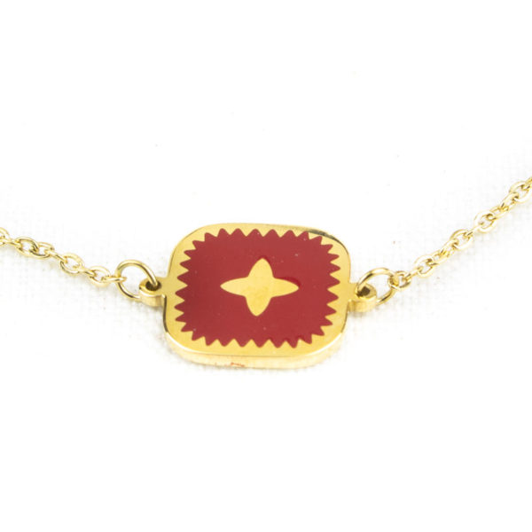 bracelet-zag-medaillon-carre-rouge-2