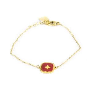 bracelet-zag-medaillon-carre-rouge