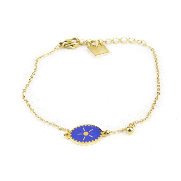 bracelet-zag-medaillon-ovale-bleu-ciel