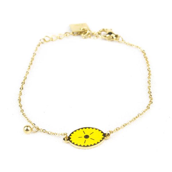 bracelet-zag-medaillon-ovale-jaune
