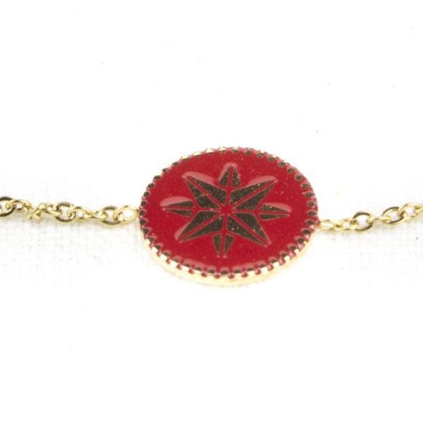 bracelet-zag-medaillon-rond-rouge-2