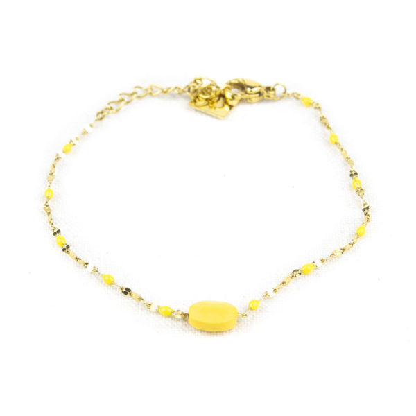 bracelet-zag-rose-perle-jaune-2