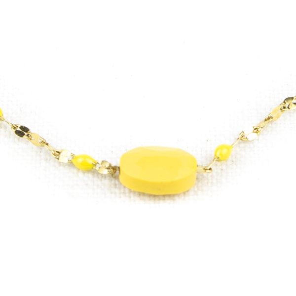 bracelet-zag-rose-perle-jaune