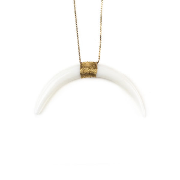 satellite-paris-collier-corne-blanc